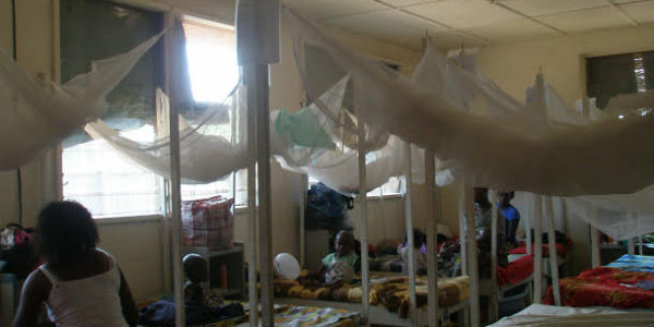 Photo 2: The Children's ward in Congo-Brazzaville