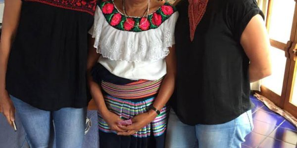 Jessica en Katja in Chiapas