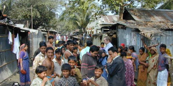 Henk Bijlmer houdt zich bezig met waterkwaliteit in Bangladesh